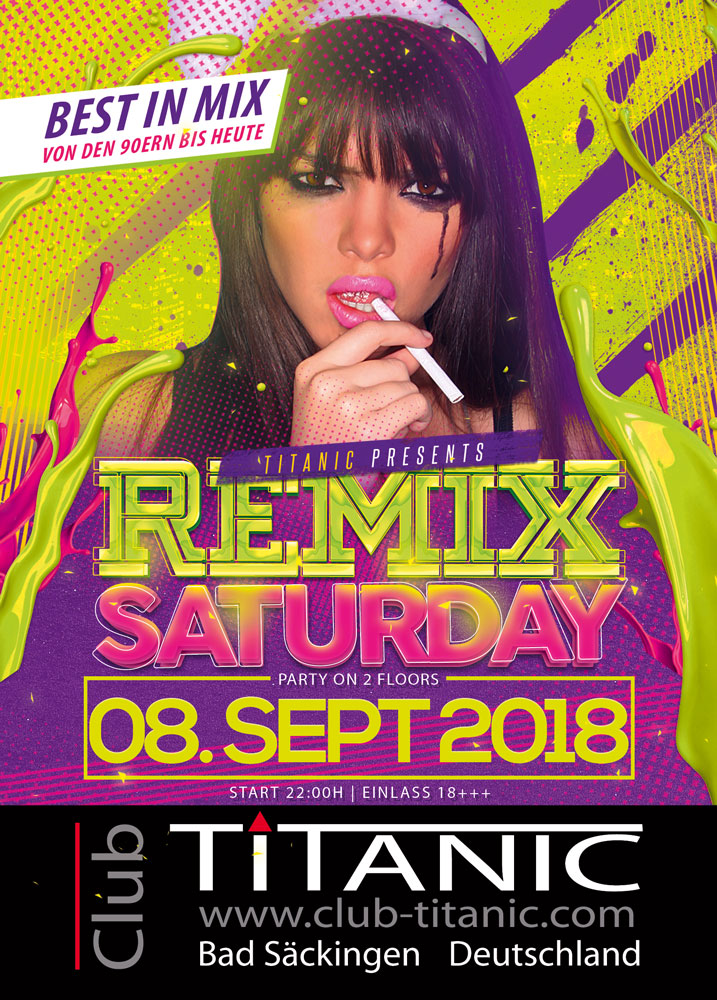 RemixSaturday Flyer