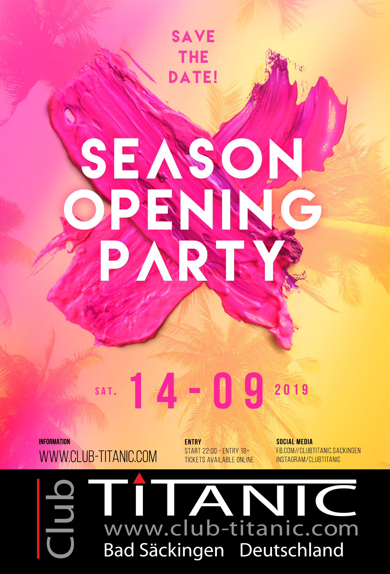 Season Opening Party